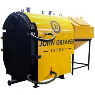 Котел с автоматической подачей топлива JOHN GREAVES КВП