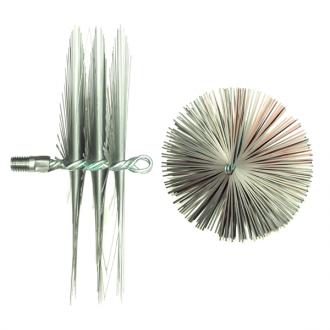 Щетка металлическая плоская для чистки дымоходов