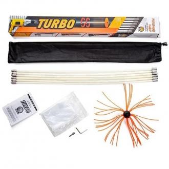 Роторный набор SAVENT TURBO для чистки дымохода