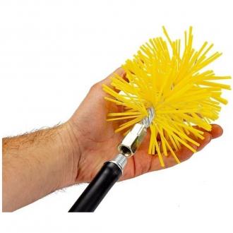 Щетка Savent пластиковая для чистки дымоходов и теплообменников