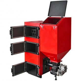 Твердотопливный котел с автоподачей Amica Eco Green 27-110 кВт