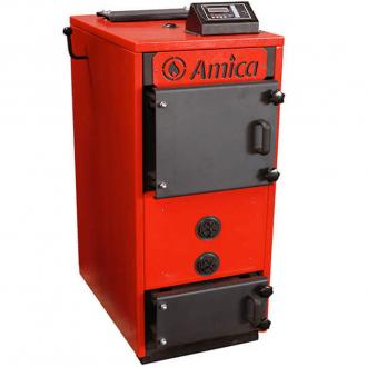 Пиролизный твердотопливный котел Amica Piro M 18-26 кВт