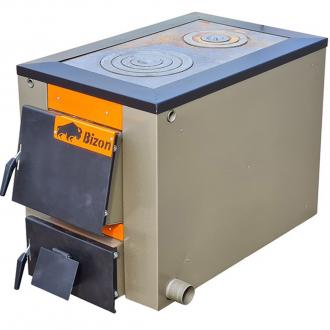 Твердотопливный котел Бизон М ТЕРМО с плитой 10-20 кВт