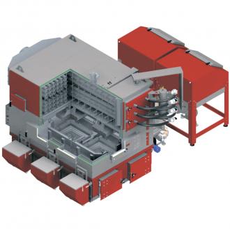 Промышленный котел с автоподачей топлива Defro EkoPell MAX