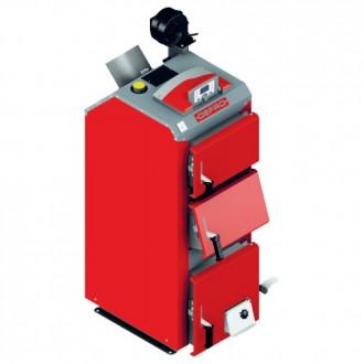 Твердотопливный котел длительного горения с автоматикой Defro Optima Komfort Plus