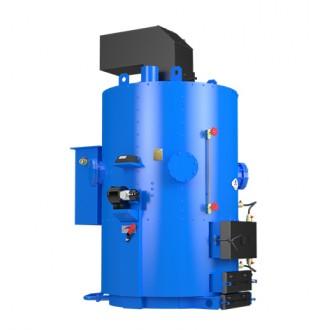 Промышленный твердотопливный парогенератор Идмар 120 - 700 кВт