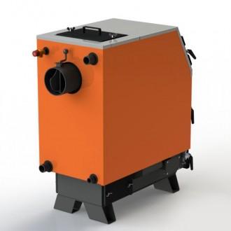 Котел на твердом топливе Kotlant КВУ 16 - 50 кВт