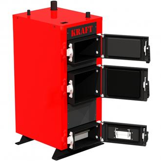 Твердотопливный котел KRAFT E New 12-24 кВт