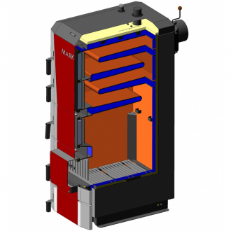 Твердотопливный котел Маяк ECO MANUAL UNI type H 16 - 95 кВт