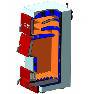 Твердотопливный котел АОТ STANDART PLUS (6 мм) 12 - 50 кВт