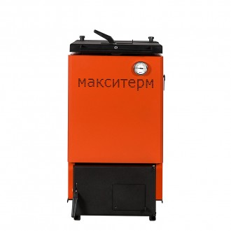 Шахтный котел на твердом топливе Макситерм Шахта Классик