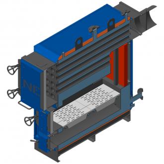 Промышленный котел на твердом топливе НЕУС-Т
