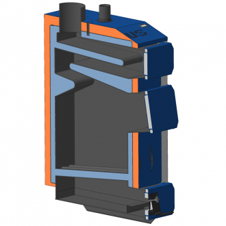 Твердотопливный котел Неус Практик (12-30 кВт)