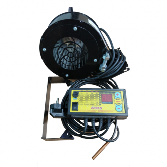 Комплект автоматики АТОС (блок управления + вентилятор)