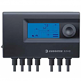 Автоматика для твердотопливного котла Euroster 11WB