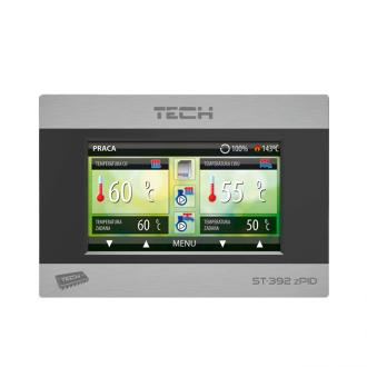 Блок управления твердотопливным котлом Tech ST-392 zPID d100