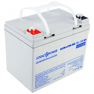 Аккумулятор мультигелевый LogicPower AGM LPM-MG 12-33 AH (12V)