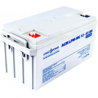 Аккумулятор мультигелевый LogicPower AGM LPM-MG 12-65 AH (12V)