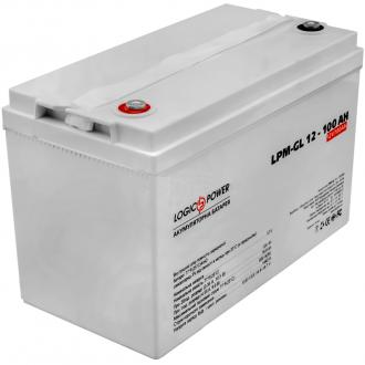 Гелевый аккумулятор LogicPower LPM-GL 12-100 AH