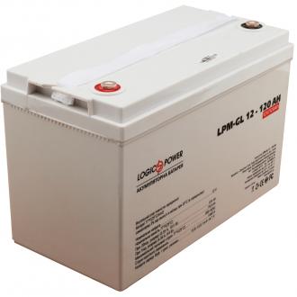 Гелевый аккумулятор LogicPower LPM-GL 12-120 AH