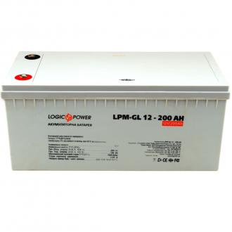 Гелевый аккумулятор LogicPower LPM-GL 12V 200AH