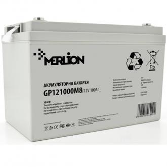 Аккумулятор мультигелевый Merliоn AGM GP121000M8 12V 100Ah White Q1