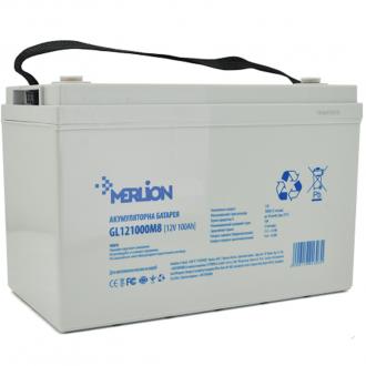 Аккумулятор гелевый Merliоn GL121000M8 12V 100Ah Q1