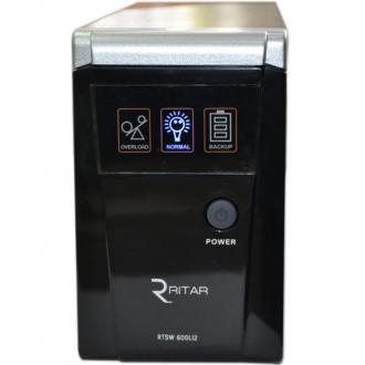 Источник бесперебойного питания Ritar RTSW-600L12 (LED) с правильной синусоидой