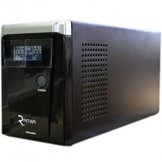 Источник бесперебойного питания Ritar RTSW-800D12 (LCD) с правильной синусоидой