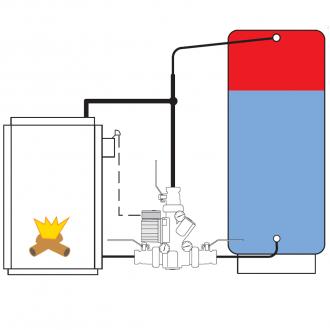 Термосмесительный узел Termoventiler Laddomat 21-60 (63°C)
