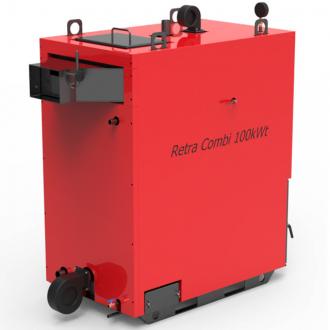 Котел на твердом топливе Ретра 4М COMBI F  25 - 150 кВт