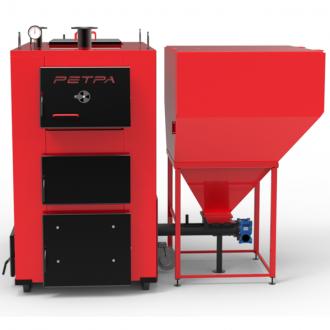 Твердотопливный котел Ретра 4М TRIO 25 - 150 кВт