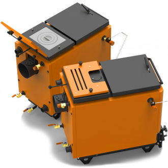 Котел на твердом топливе Ретра 6М ORANGE 11 - 40 кВт