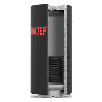 Буферная емкость Альтеп с нижним теплообменником и утеплителем