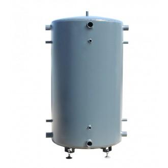 Теплоаккумулятор ДТМ Стандарт с верхним теплообменником без изоляции.