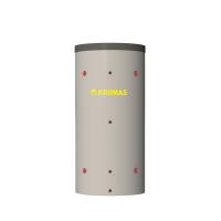 Теплоаккумулятор Kronas круглый. С двумя теплообменниками и изоляцией.