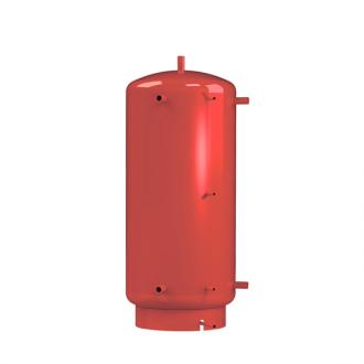 Теплоаккумулятор Kronas круглый с двумя теплообменниками. Без изоляции.