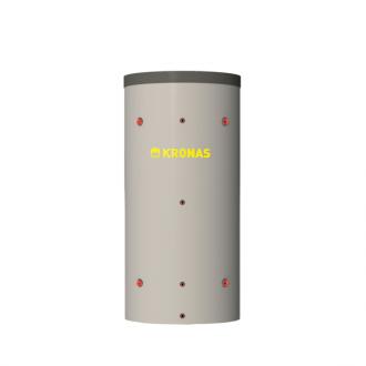 Теплоаккумулятор Kronas круглый, с верхним теплообменником и изоляцией