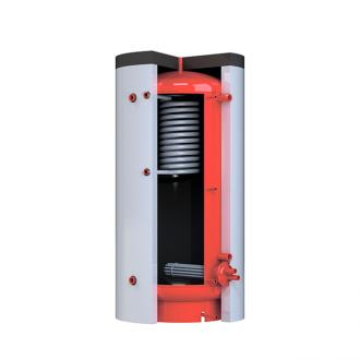 Теплоаккумулятор Kronas круглый с верхним теплообменником.